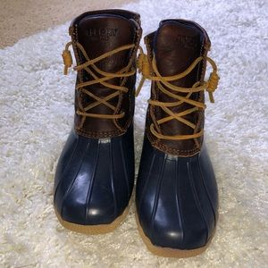 Sperry Duck Boots Size 7 Women's
